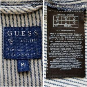 Guess Tops - Guess | distressed chambray shirt